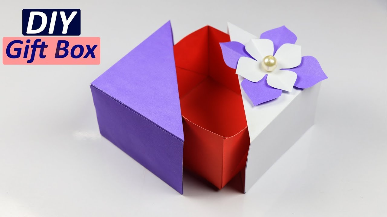 Gift Box How To Make A Unique Diy Gift Box Gift Ideas 2018 Youtube