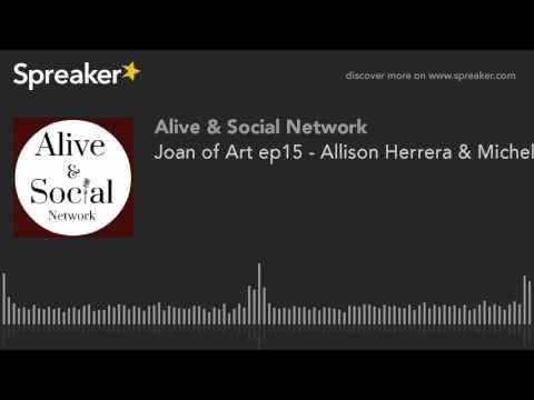 Joan of Art ep15 - Allison Herrera & Michelle Baroody talk Mizna  Twin Cities Arab Film Festival