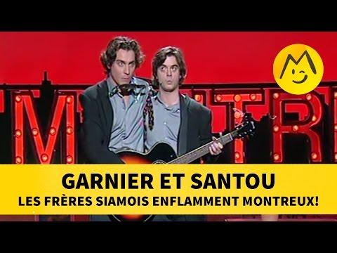 Garnier et Santou : Les frères Siamois enflamment Montreux!
