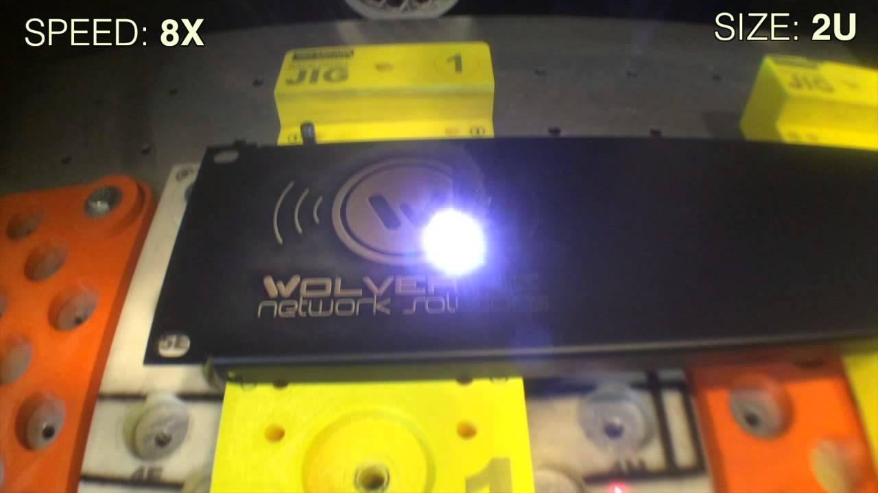 Custom Laser Engraved Rack Panel