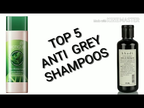 anti gray shampoo