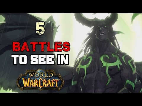 5 Warcraft Battles That Players Would Love to See In Game