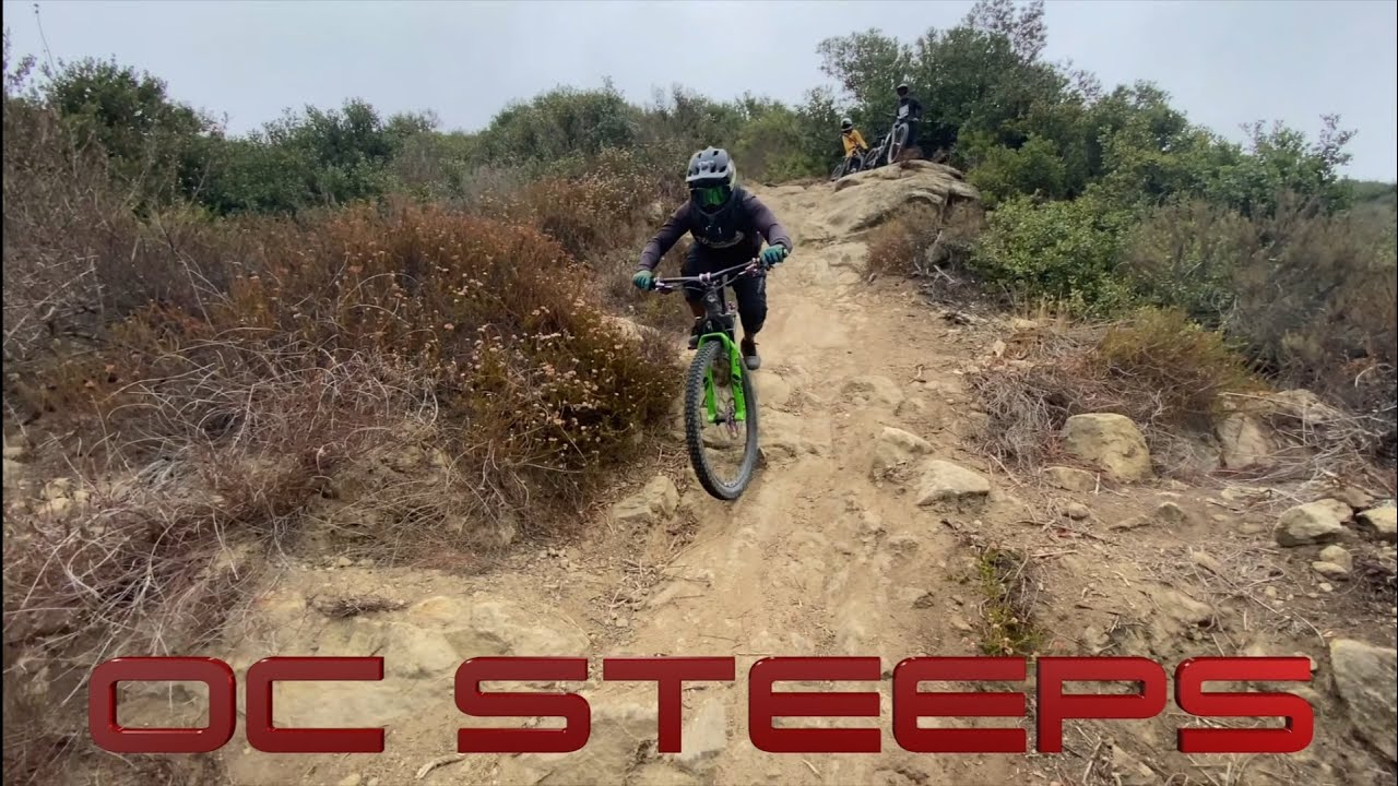 OC Steeps Shuttle Day / Taking Laps on some of OC's Gnarliest Trails / July 26, 2021