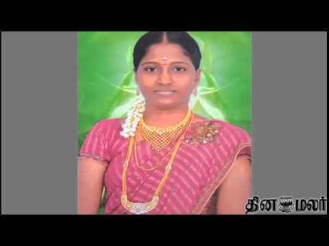 Pregnant Lady Murdered in Ramanathapuram 4 Including Mother Arrested - Dinamalar March 31st News
