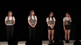 2017年3月11日。 セットリスト①エースOPSE②Let's breakin' out!!③キャノンボール④青い赤.