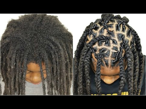 1 YEAR OF NEW GROWTH HAIR RETWIST | With No Clips *Must See* Transformation