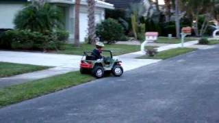 We Converted a 12v Power Wheels to 24v