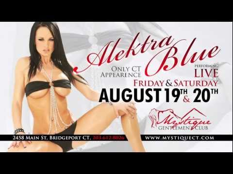 Alektra Blue at Mystique Gentleman's Club - August 19 & 20