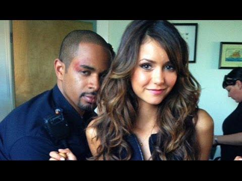 Nina dobrev goes topless in lets be cops youtube