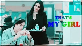 Jughead and Veronica||that's my girl (1x13)