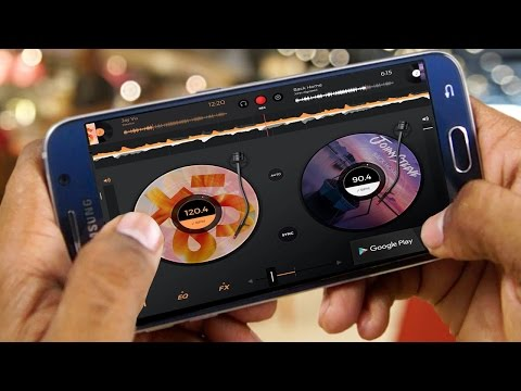 Best DJ Mixing Apps For Android Phone 2016