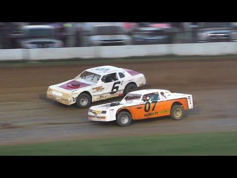 Pure Stock Heat One   McKean County Raceway   Fall Classic   10-15-16