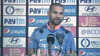 Download Not right to compare Pant with Dhoni  - Dhawan Mp3 and Videos