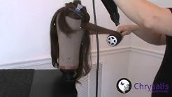 How to Blow Out a Wig: Round Brush Technique Presented by Chrysalis Custom Hair