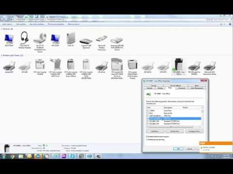 WSD Printer Port Issues