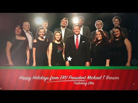 Happy Holidays 2017 from EKU President Michael T. Benson