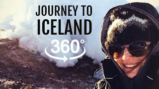 360° VR | Fly to Iceland volcano in a helicopter! thumbnail