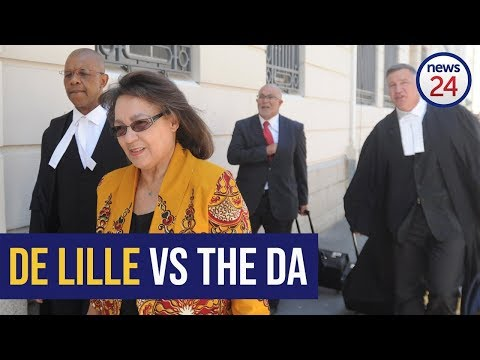 WATCH LIVE: De Lille vs the DA 3