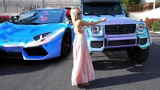 #RDBLA CRAZY Multi-Color CHROME Mercedes 4x4, Black out G63 & More!