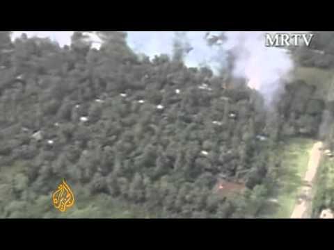 Violence erupts in Myanmar