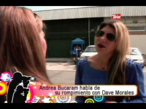 Andrea Bucaram habla de su rompimiento con Dave Morales