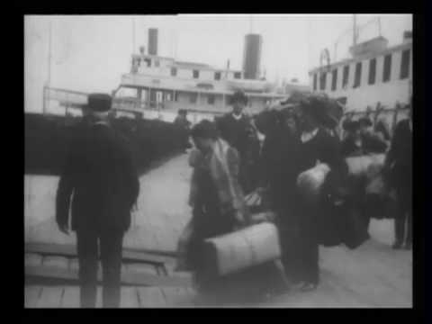 Arrival of immigrants, Ellis Island