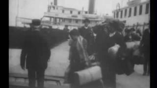 Arrival of immigrants, Ellis Island