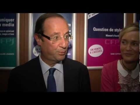 Making Of - Interview François Hollande YouTube Elections 2012