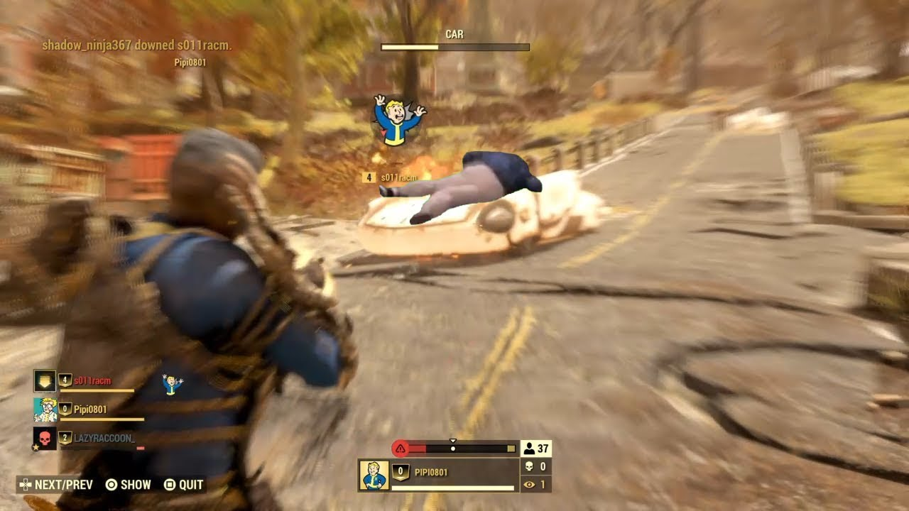 Fallout 76 BR is too good