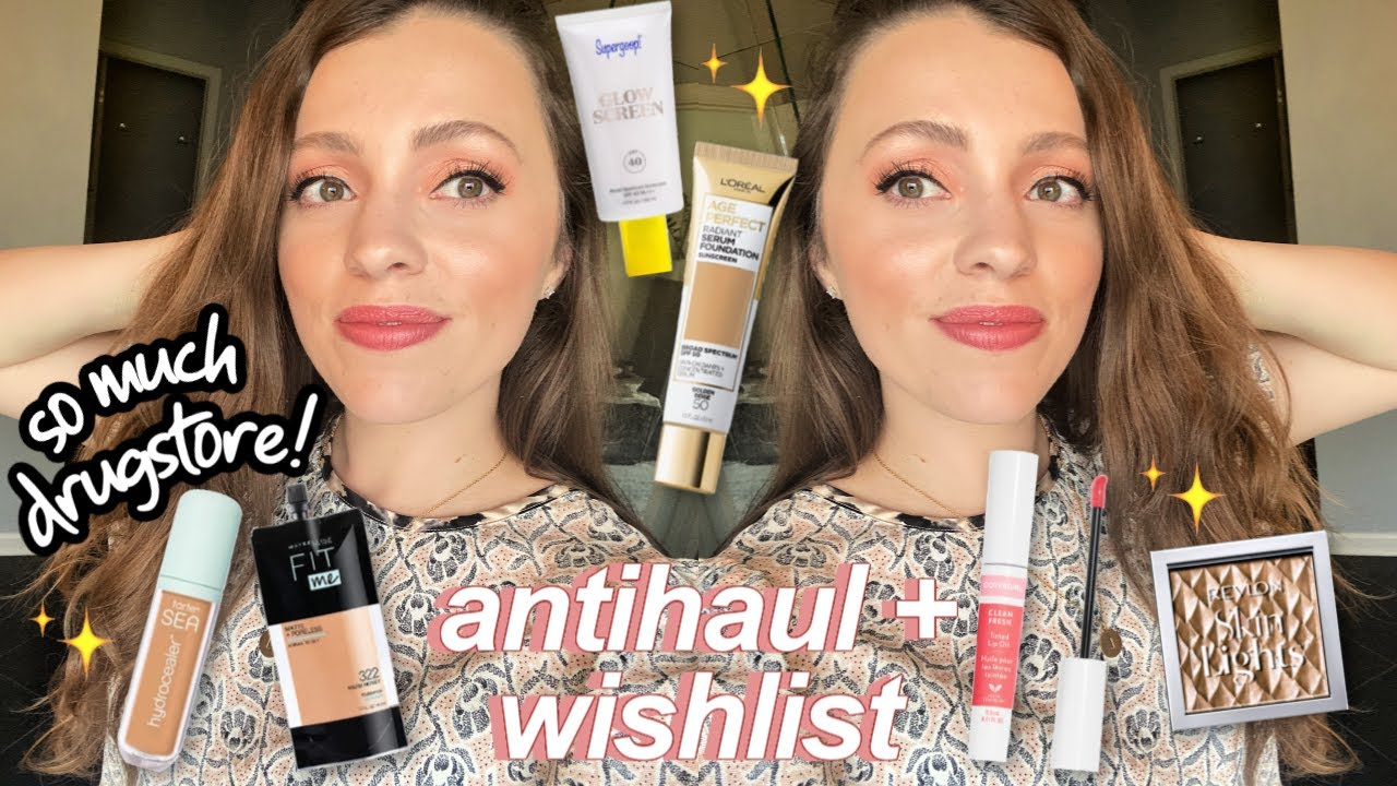 ANTI-HAUL + WISH LIST // New Makeup Launches 2020