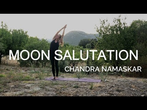 Yoga The Moon Salutation Chandra Namaskar