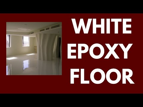 White Epoxy Floor - Three things to look out for