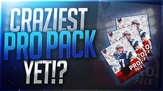 500k pro pack opening luckiest pack ever madden mobile 17
