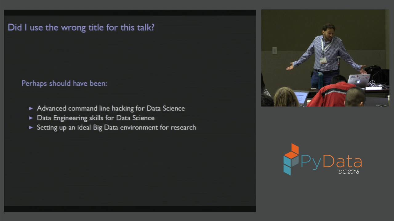 Image from Scaling up to Big Data Devops for Data Science