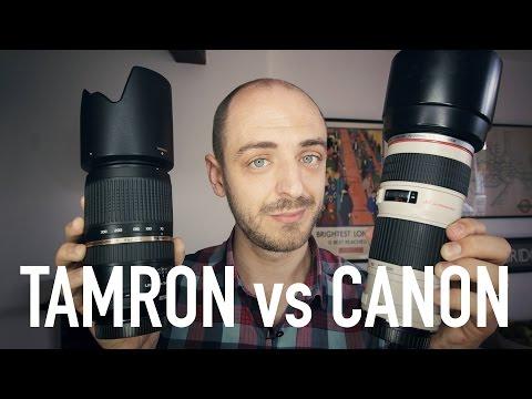 Tamron 70-300mm VC vs Canon 70-200mm f/4L