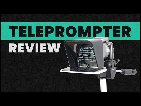 Padcaster Parrot teleprompter review - Is this the only real YouTube option?