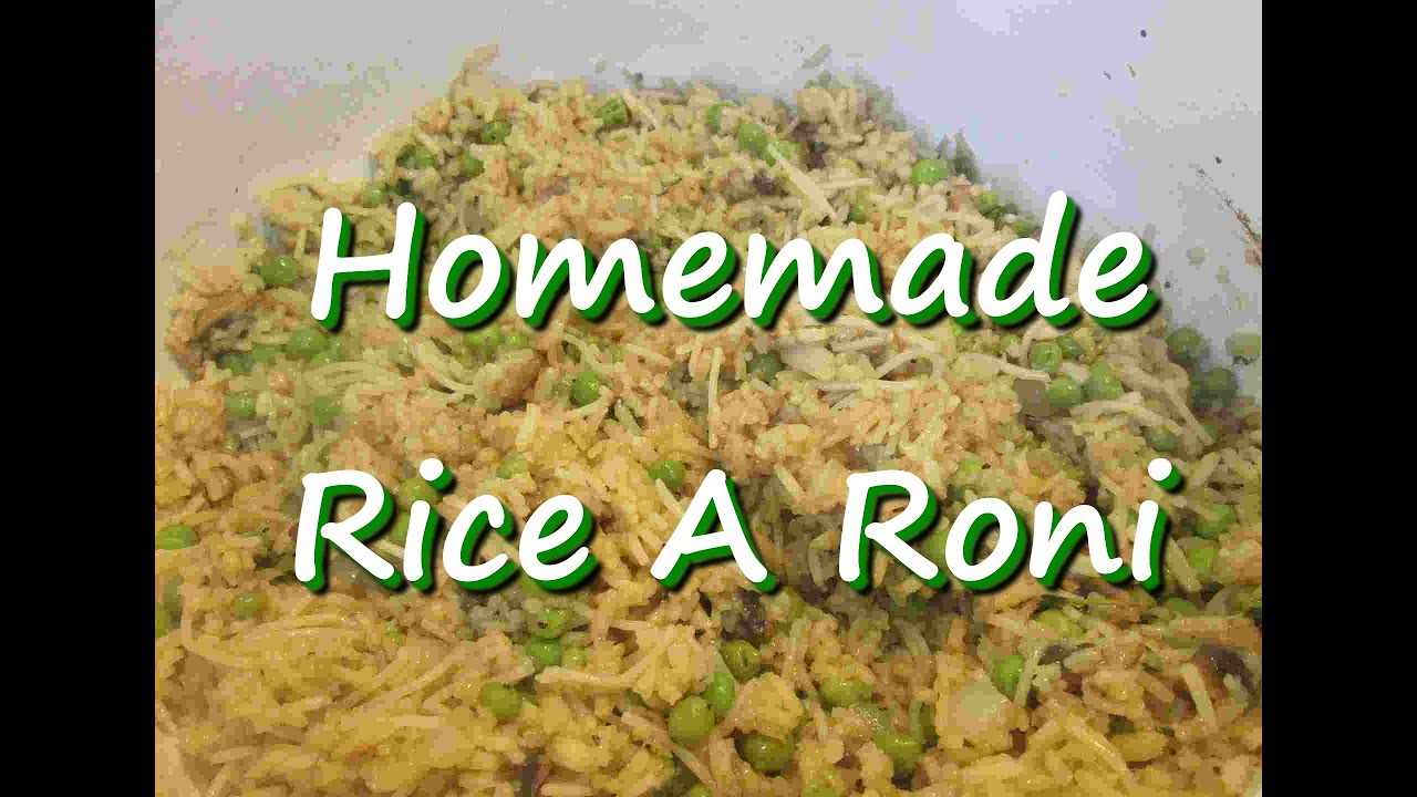 How to make homemade rice a roni rice side dish recipe youtube ccuart Image collections