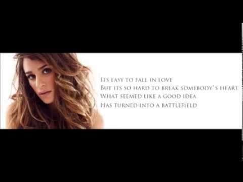 Lea Michele - Battlefield (Lyrics)