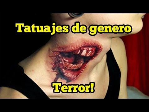 16 Tatuajes de Terror!
