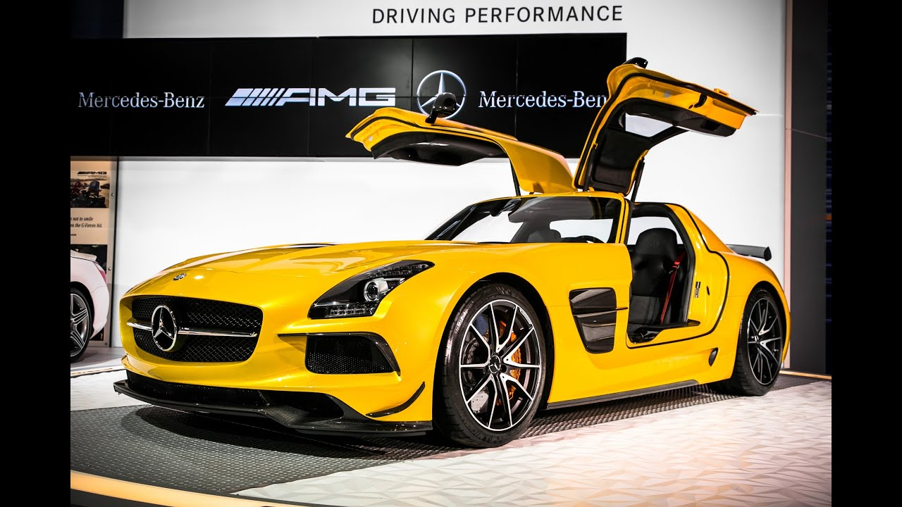 SLS AMG Black Series  Product Manager Walk Around  Mercedes