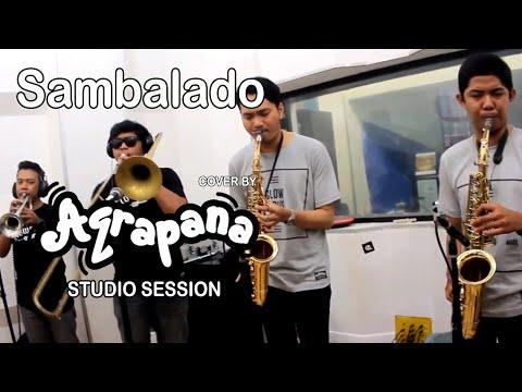 AQRAPANA - Sambalado (Ayu Ting Ting Cover) Live Recording at Studio.