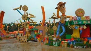 [HD] Empty Toy Story Land walk-through at Hong Kong Disneyland 2016