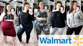 WALMART Try On Haul! 6 Outfits for $130! |Plus Size Fashion|