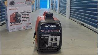 Honda Eu2200i Unboxing