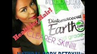 NATURAL DETOX, HEALTHY HAIR SKIN AND NAILS & MORE!! DIATOMACEOUS EARTH FOOD GRADE