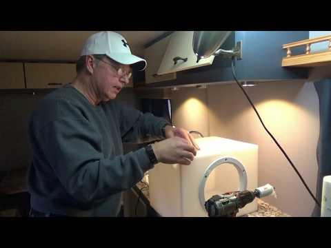 Home Built Travel Trailer - Part 60 (Holding Tank Install – Part 1)
