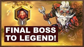Final Boss To Legend! | Odd Control Warrior | The Boomsday Project | Hearthstone