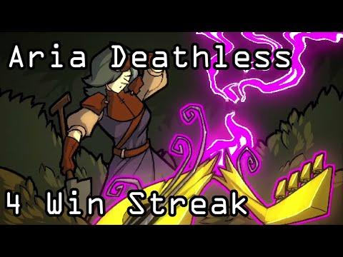 Crypt of the NecroDancer - Aria Deathless 4 Win Streak