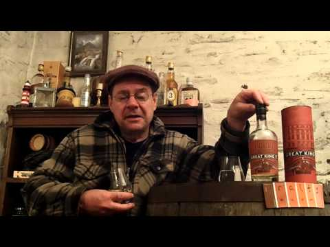 whisky review 557 - Great King Street Glasgow Blend (and the traffic cone)