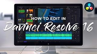 How to edit in Davinci Resolve 16 - Start to Finish Tutorial